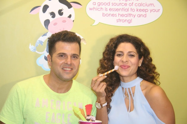 Bhakhtyar and Tanaaz Irani at the screening of Bhakhtyar's short film Drinks, Drama Aur Dhokha at the Menchies Short Film Fiesta